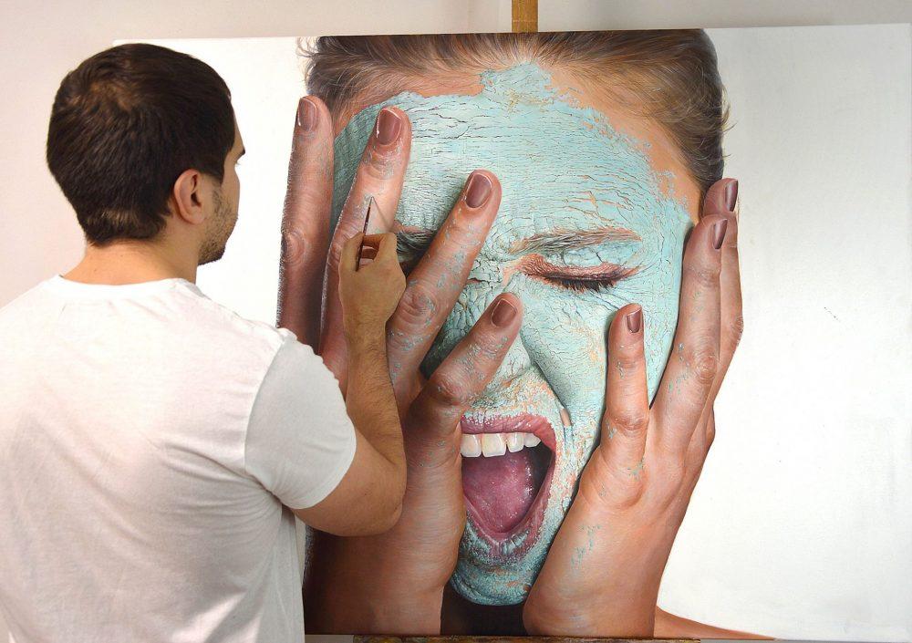 Piskunov Sergey Hyperrealism Pantings
