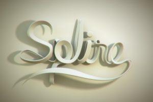 3D Typo | metin akcakoca