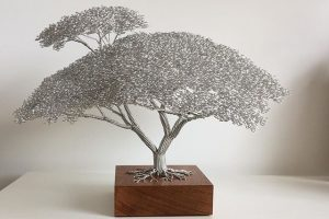 Clive Maddison / Wire Tree sculptures