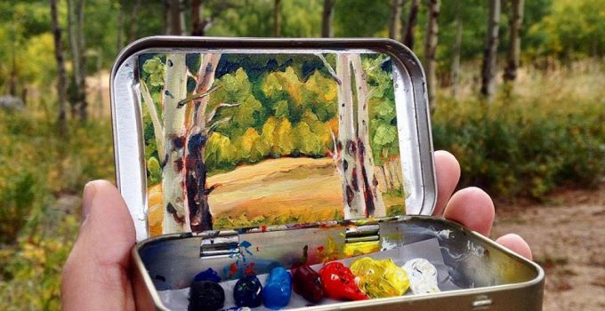 paintings by Heidi Annalise