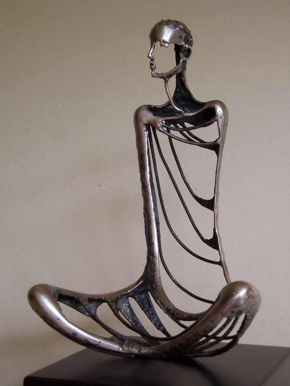 sculpture by Ros Newman
