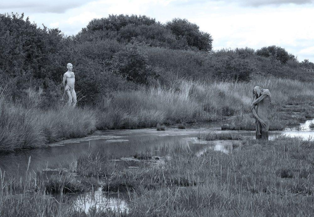 Swamp creatures by Sculptor Sophie Prestigiacomo