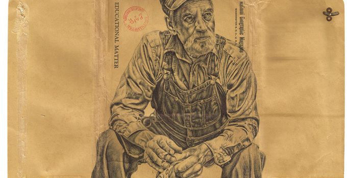 Ballpoint Pen Drawings on Antiques | Mark Powell