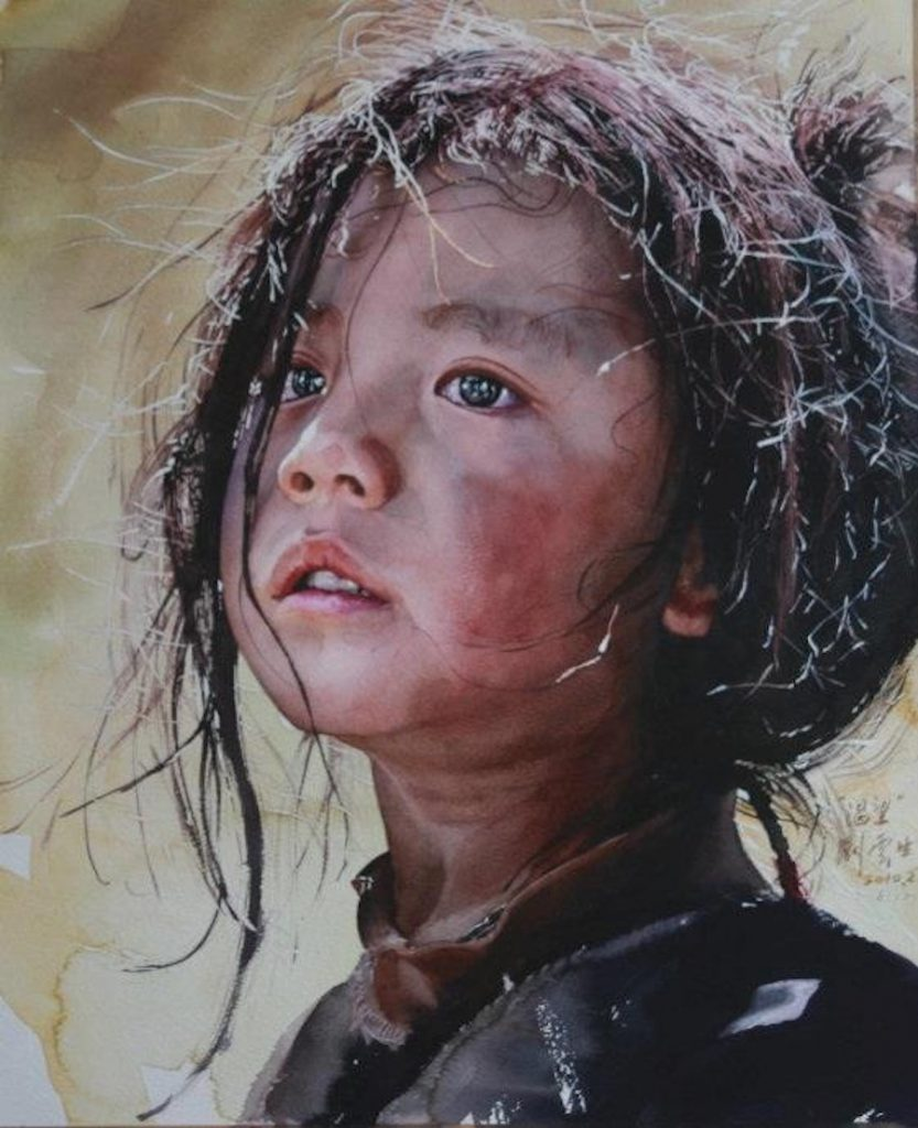 Wonderful Watercolor Painting by Liu Yunsheng