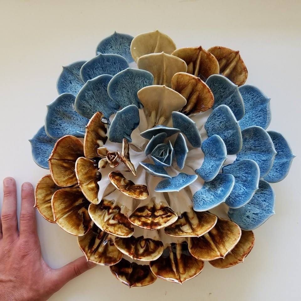 Handmade Ceramic Blooms by Owen Mann