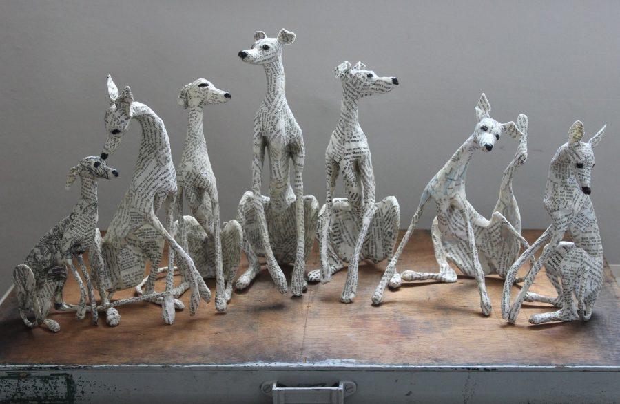 Paper sculpture by lorraine corrigan artpeople