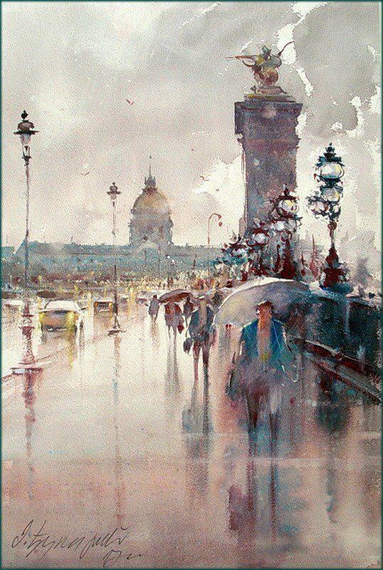 Joe For Oil >> Watercolor Paintings by Dusan Djukaric – ArtPeople.Net