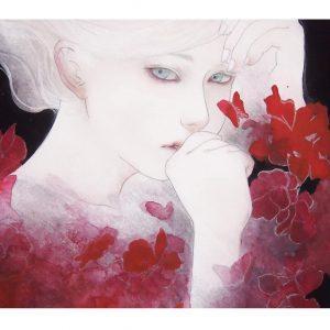 Mitsuko Kuroki / KUROKI Mitsuko is a fine Art illustrator , mainly Japanese painting.