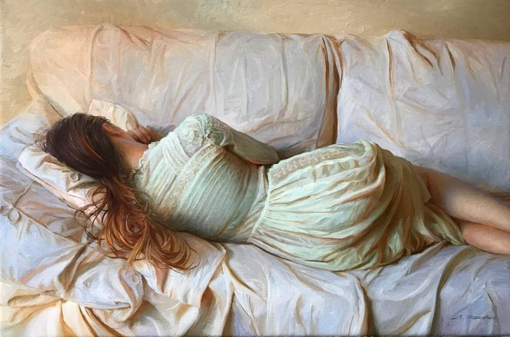 Artist Crafts Realistic Sculptures Modeled After ... |Realistic Figurative Painting