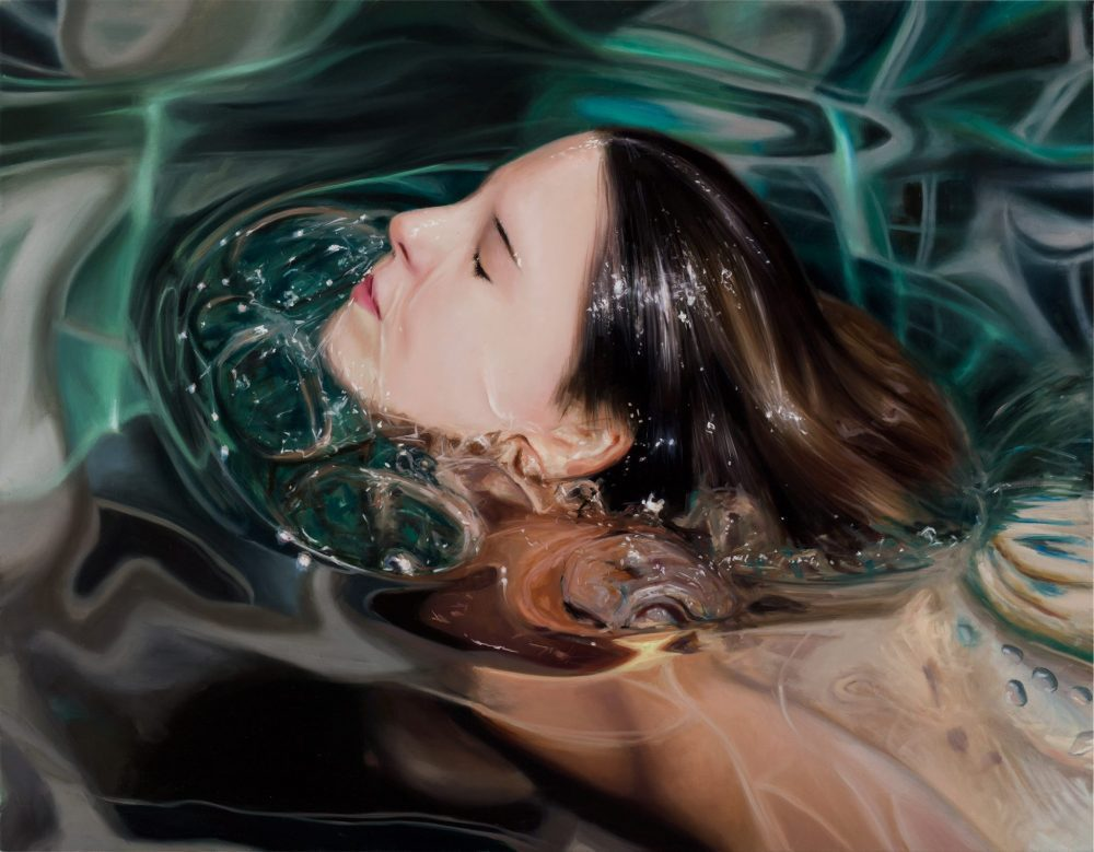 Reisha Perlmutter , Underwater Paintings