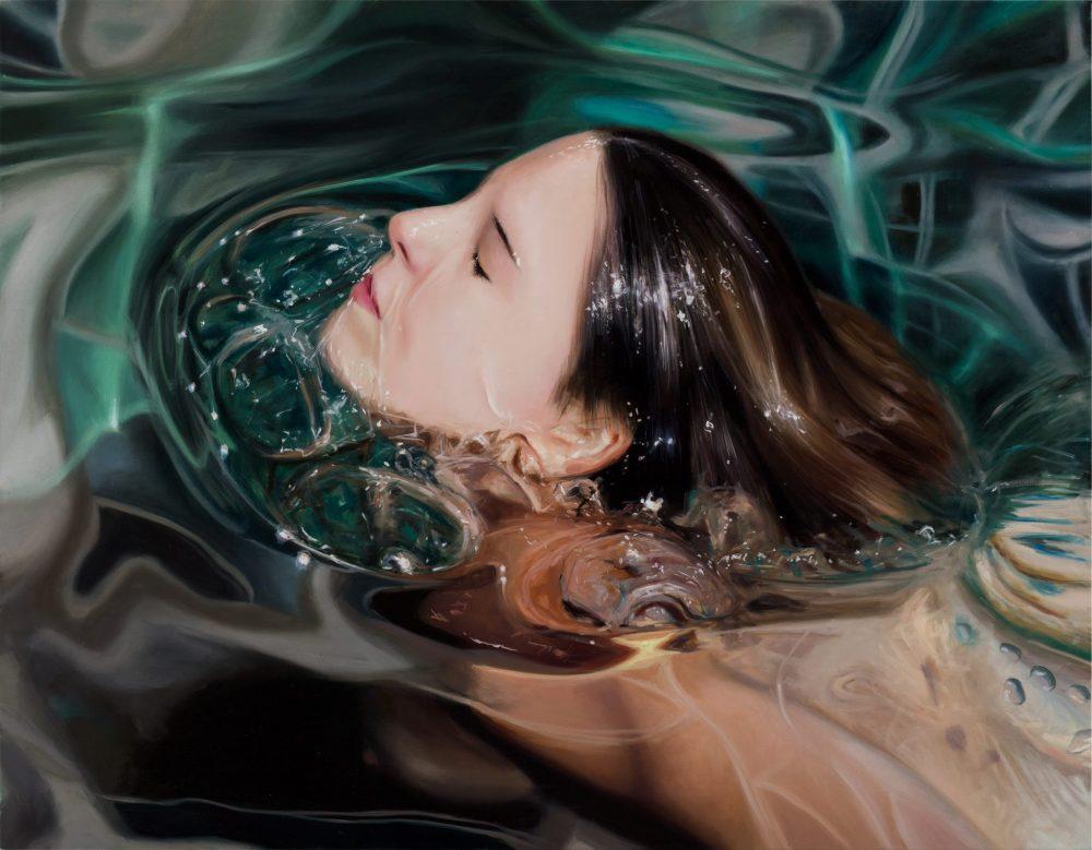 Reisha Perlmutter , Underwater Paintings