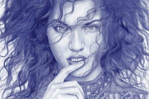 Ballpoint Pen Drawings Works by Rafael Augusto