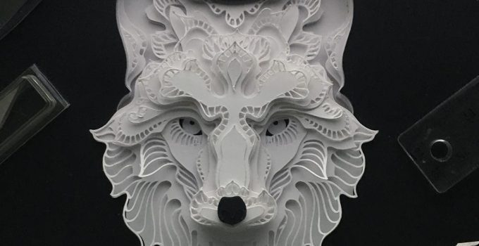 Incredible layered paper cutting art by Patrick Cabral.