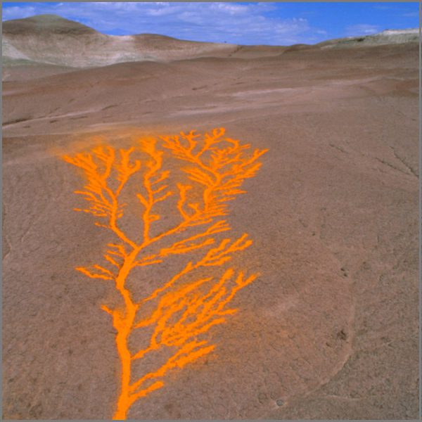 LAND ART photography by Jean-Paul Bourdier