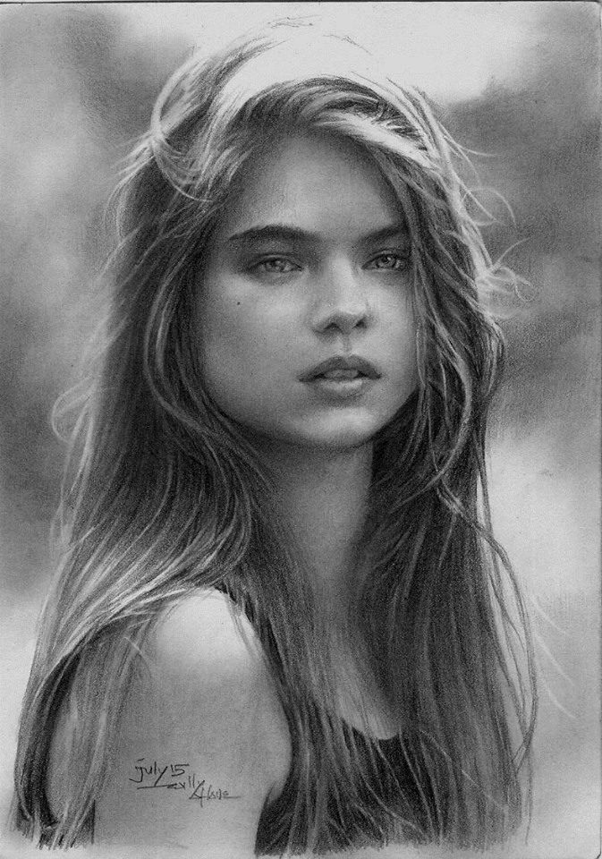 Beautiful pencil drawing works by Hari Willy. - ArtPeople.Net