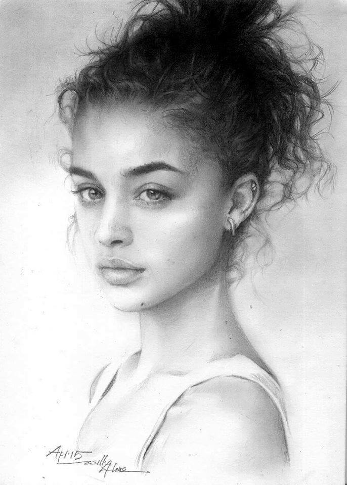 beautiful pencil drawing works by hari willy artpeople net