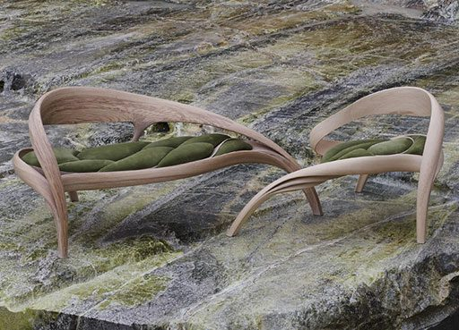 Joseph Walsh's Bent Wood Objects