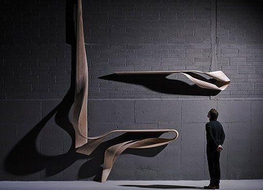 Joseph Walsh's Bent Wood Objects
