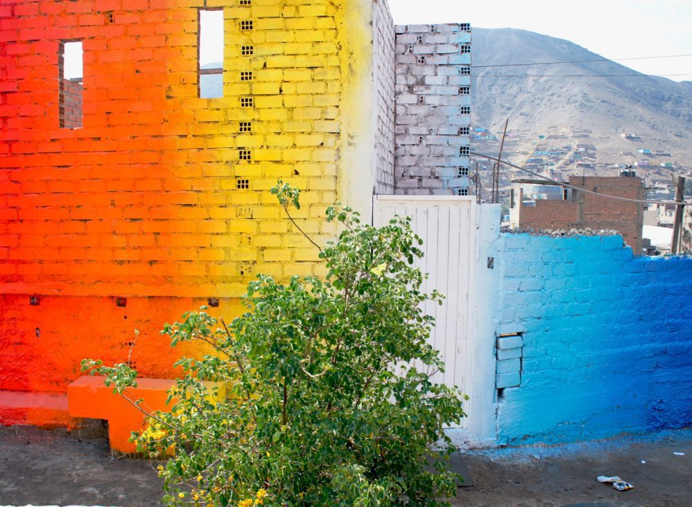 Murals by Xomatok Cover the Streets of Lima With Bursts of Color