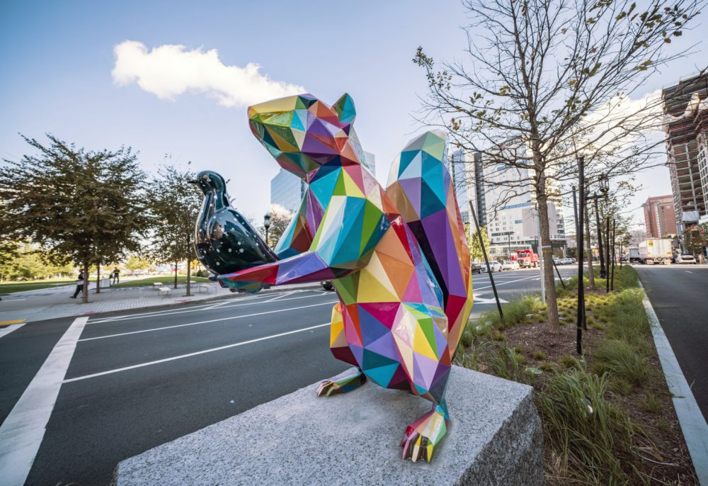 """Air, Sea and Land"" 7 sculptures in the Streets of Boston 