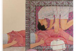 Mixed-Media Paintings by Arghavan Khosravi