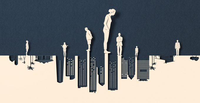 Minimalist Editorial Illustrations by Eiko Ojala