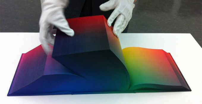 The RGB Colorspace Atlas by New York-based artist Tauba Auerbach