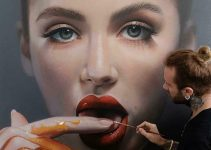 Hyperrealism portraits by Mike Dargas