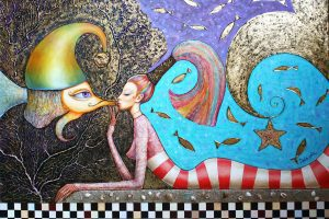 Glass Painting Artist Dobriela Koeva
