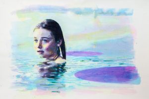 watercolor and acrylic paint by Kenneth Pils