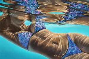 Pretty pastels painting by Michelle Lucking
