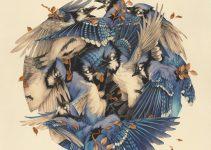 Beautiful Mixed-Media Artworks by Teagan White